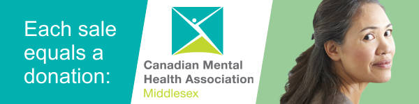 Each sale equals a donation to the Canadian Mental Health Association Middlesex.