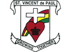 St. Vincent de Paul Catholic School logo