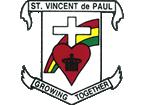 St. Vincent de Paul Catholic School logo