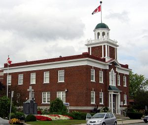 Strathroy town hall.